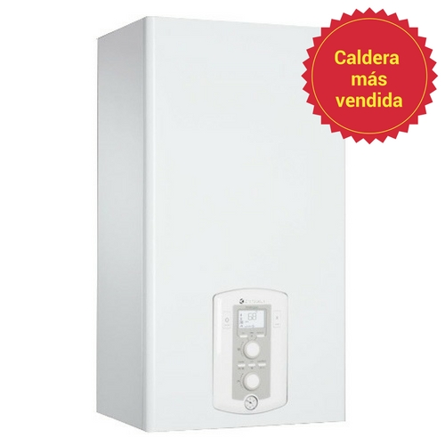 caldera de condensación y potencia 25 kW